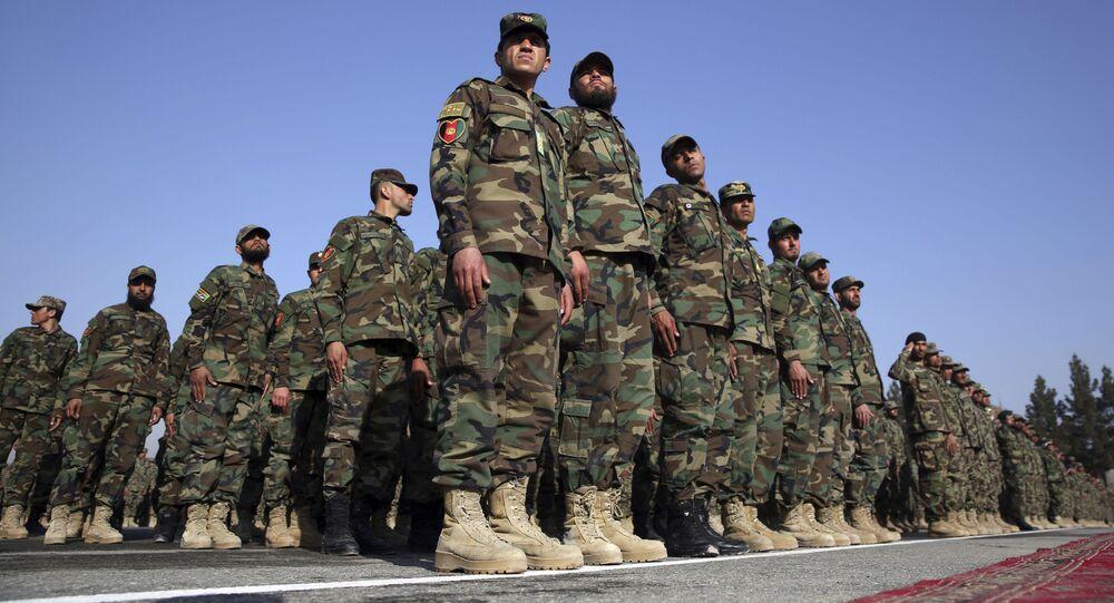 الجيش الوطني الأفغاني، أفغانستان، 2020