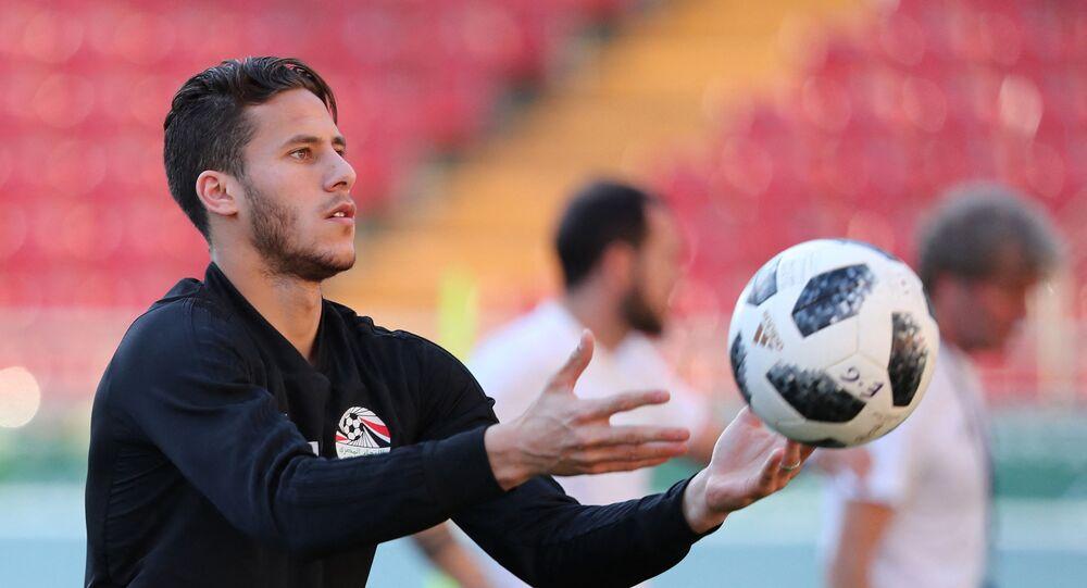 اللاعب المصري، رمضان صبحي، نجم فريق بيراميدز