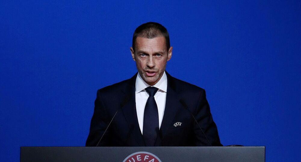 رئيس الاتحاد الأوروبي لكرة القدم (يويفا)، أليكسندر سيفرين