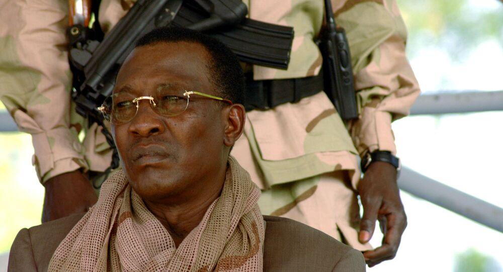 الرئيس التشادي الراحل إدريس ديبي، تشاد 2006