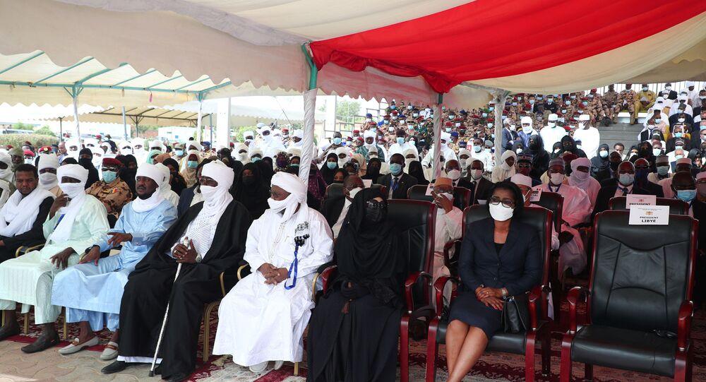 جنازة الرئيس التشادي الراحل إدريس ديبي في إنجامينا، تشاد 23 أبريل 2021