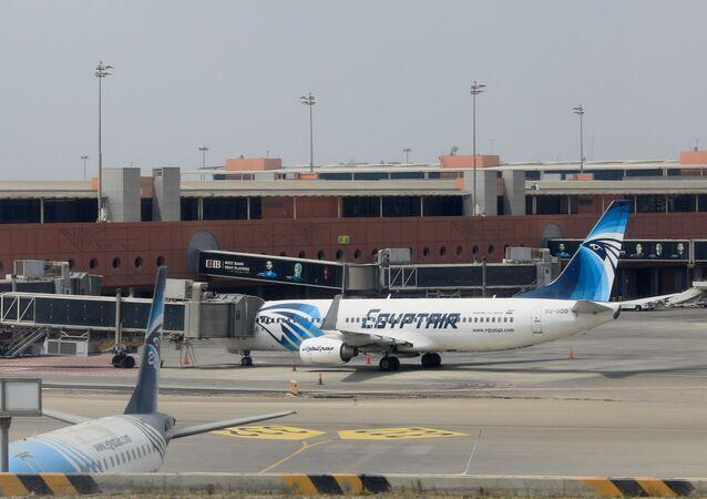 مطار القاهرة، مصر للطيران، مصر 9 أبريل 2021