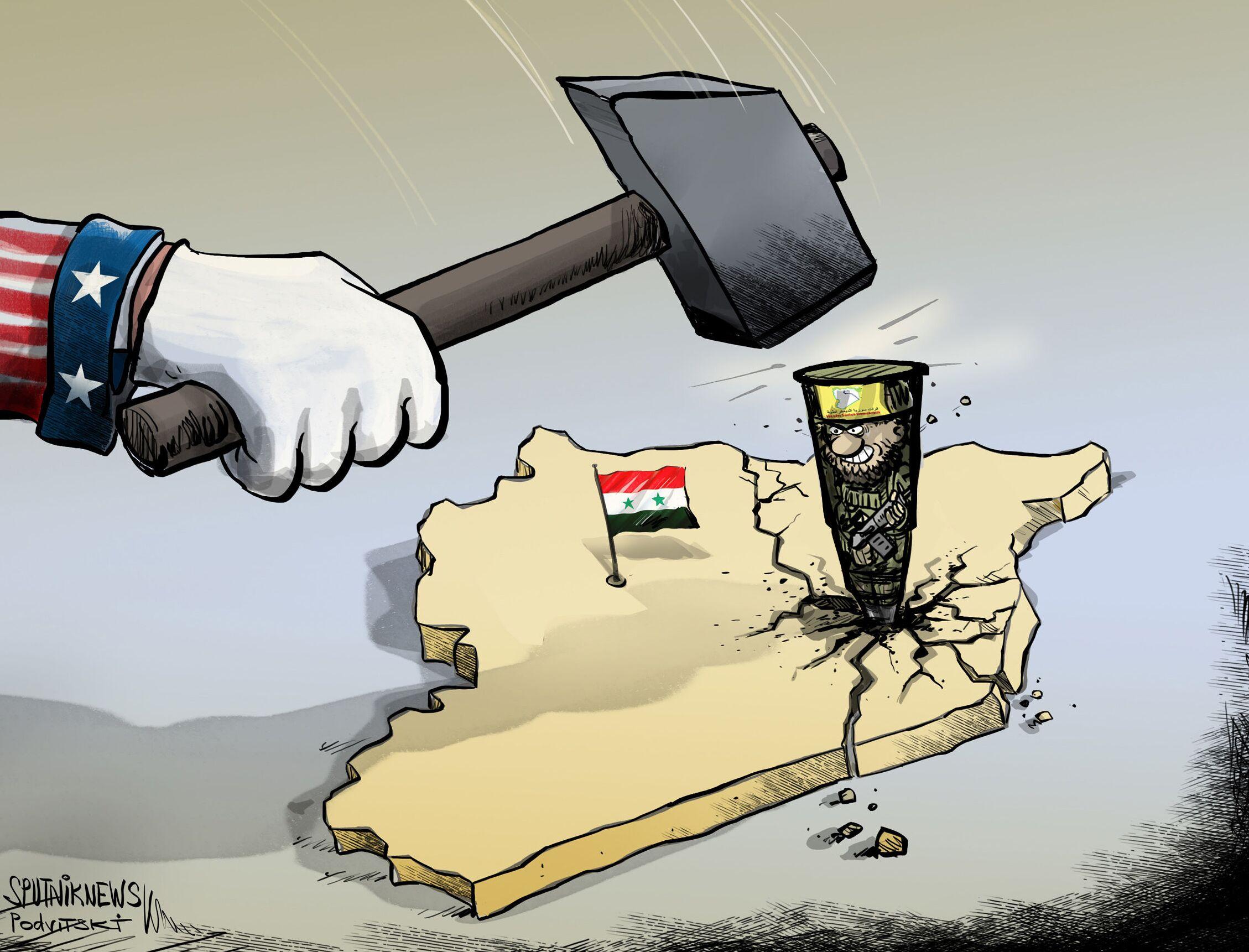 واشنطن تواصل التعدي على وحدة أراضي سوريا
