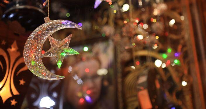 الاحتفال بشهر رمضان بدمشق 2021طقوس رمضانية مميزة في دمشق القديمة، سوريا 23 أبريل 2021