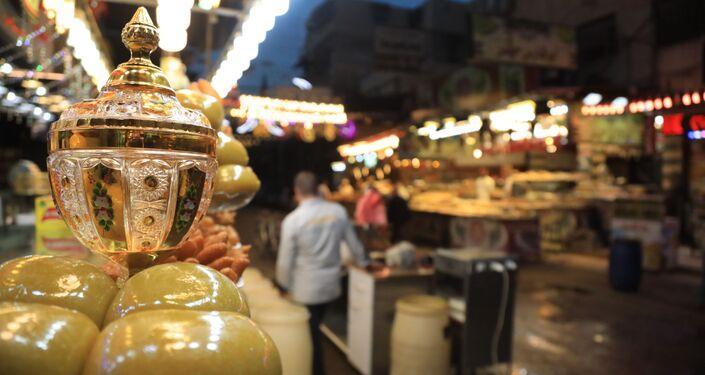 طقوس رمضانية مميزة في دمشق القديمة، سوريا 23 أبريل 2021