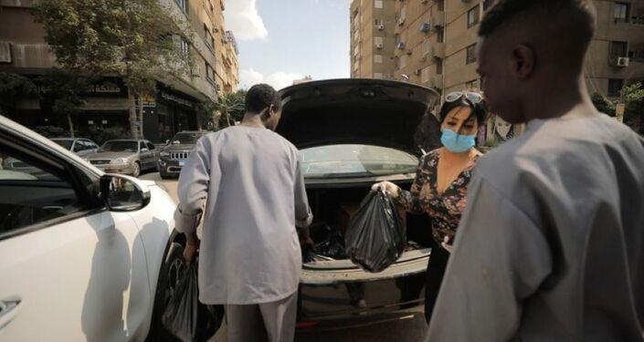 مبادرة حسناوت الخير النسائية لمساعدة آلاف الأسر الليبية بمصر