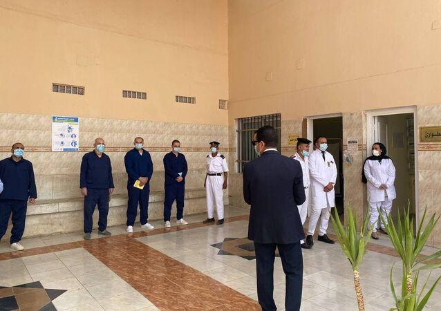داخل أحد السجون المصرية، 24 نيسان/ أبريل 2021