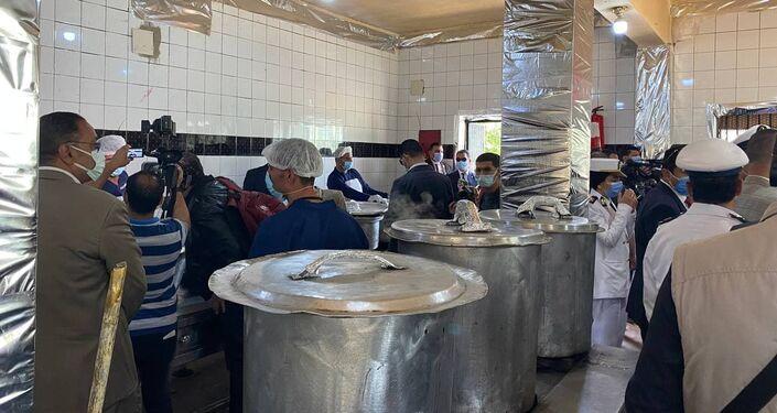 مطبخ داخل سجن مصري، 24 نيسان/ أبريل 2021