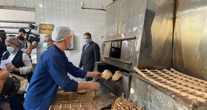 مخبز داخل أحد السجون المصرية، 24 نيسان/ أبريل 2021