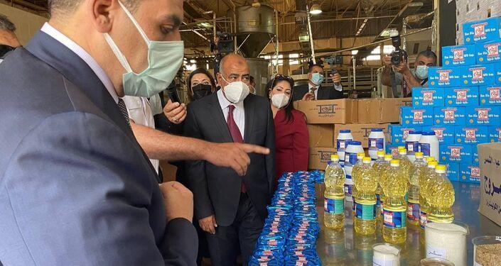 توفير السلع الغذائية داخل أحد السجون المصرية، 24 نيسان/ أبريل 2021