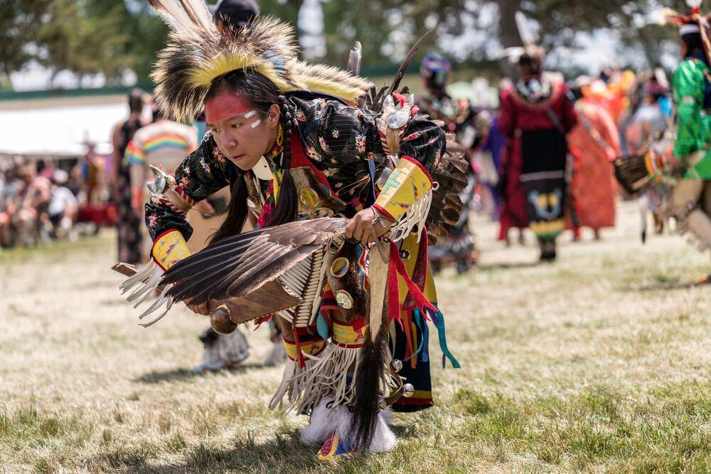 رقصة باو واو، رقصة شعب الهنود الحمر في الولايات المتحدة