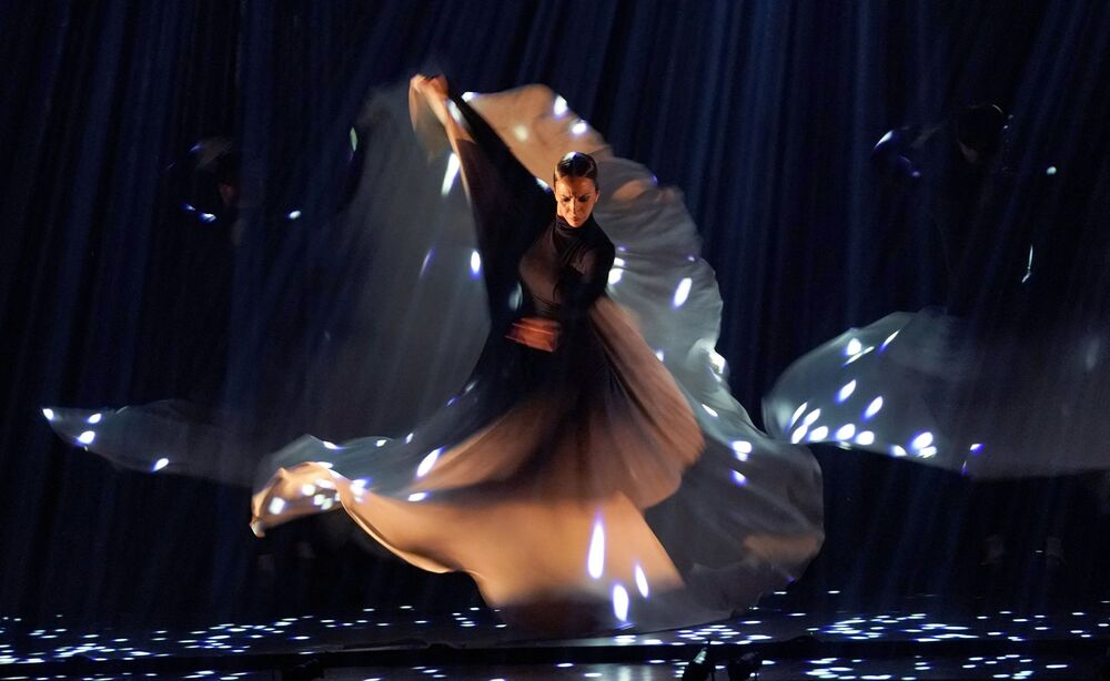 رقصة فلامنكو الإسبانية