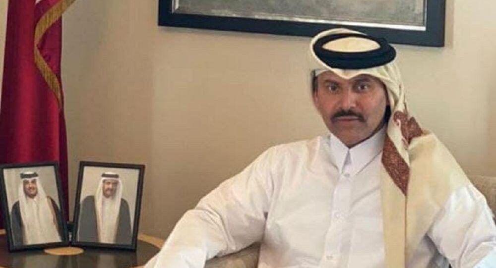 سفير دولة قطر لدى روسيا الشيخ أحمد بن ناصر آل ثاني