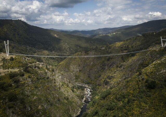 أطول جسر مشاة في العالم
