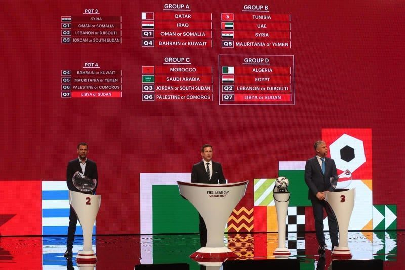 حفل قرعة كأس العرب