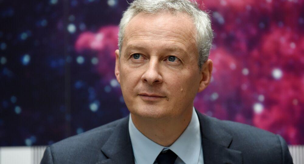 وزير الاقتصاد الفرنسي برونو لو مير