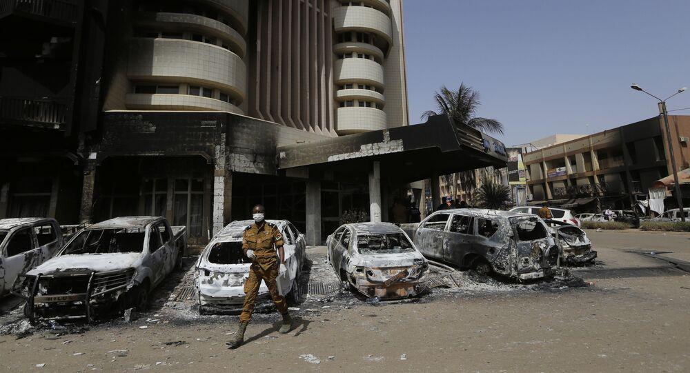 الإرهاب في بوركينا فاسو