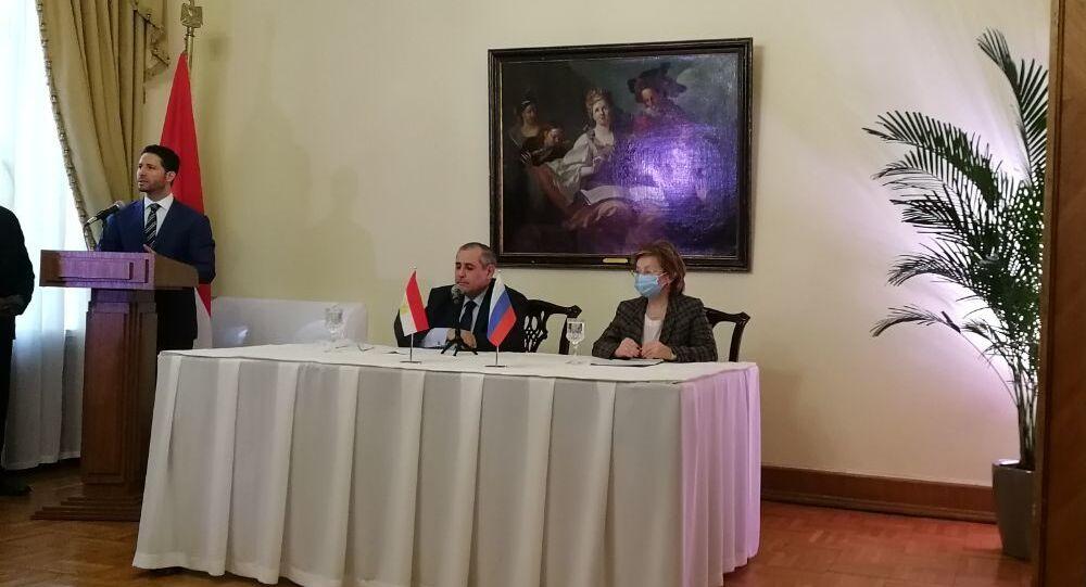 السفير المصري لدى روسيا إيهاب نصر