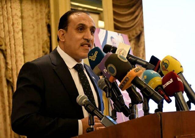 الدكتور عبد الله صبري سفير حكومة الإنقاذ في صنعاء لدى سوريا