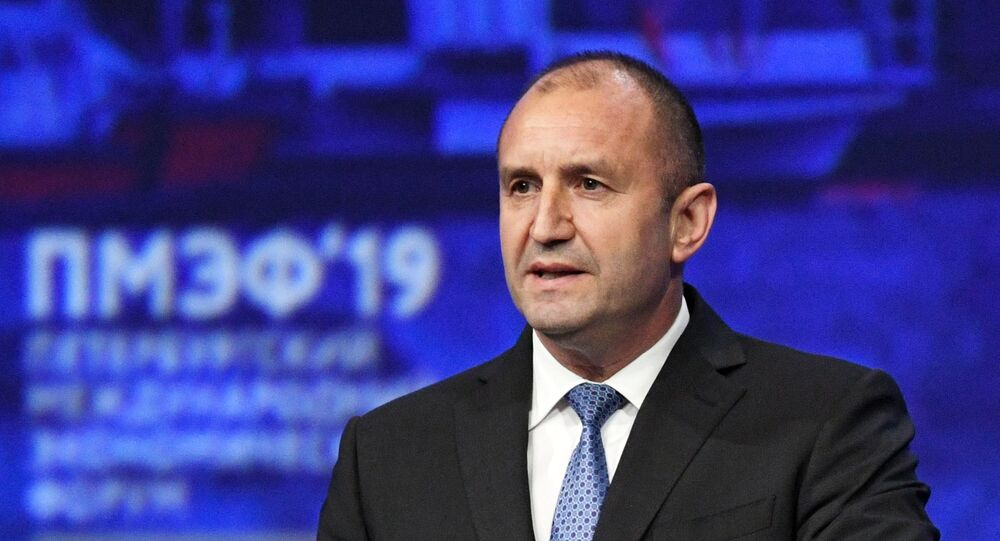لرئيس البلغاري رومين راديف