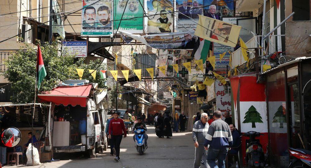 مدينة بيروت، لبنان 6 أبريل 2021