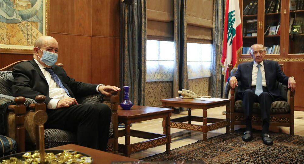 جان إيف لودريان في لبنان
