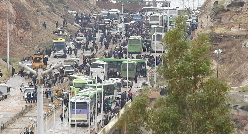 ترحيل مسلحي النصرة والفصائل التركمانية عن ريف حمص