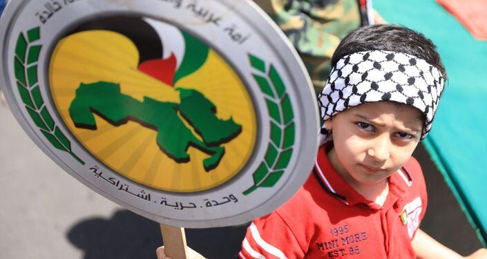 في يومها العالمي القدس أقرب في شوارع دمشق... صور