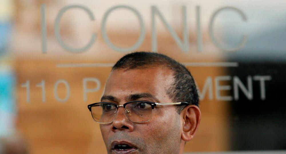 ئيس المالديف السابق ورئيس البرلمان محمد نشيد