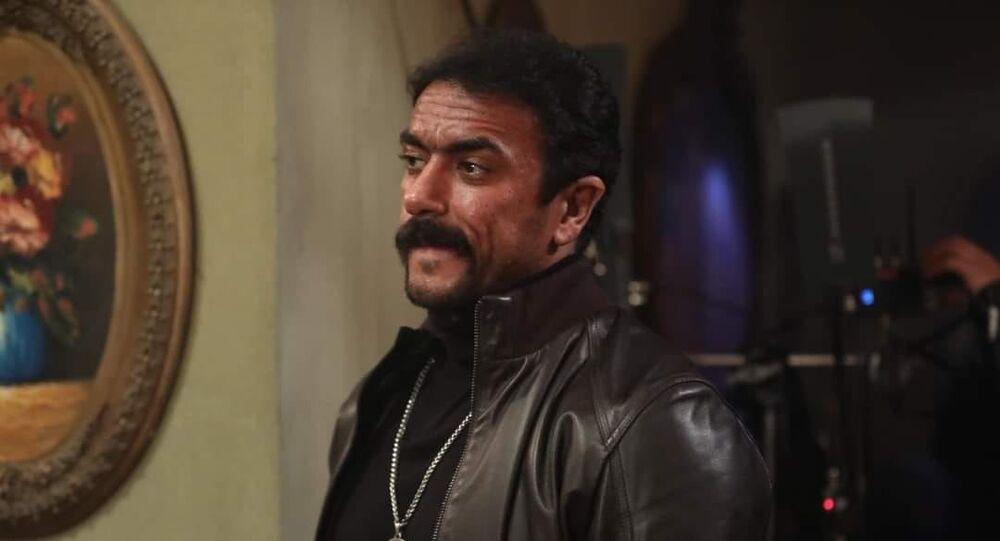 الفنان أحمد العوضي في مسلسل اللي مالوش كبير