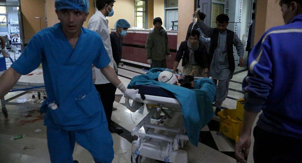 انفجار أمام مدرسة للبنات في مديمة كابول، أفغانستان 8 مايو 2021