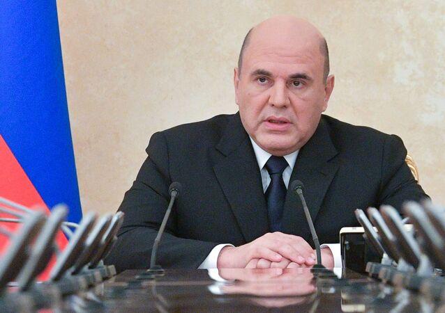 رئيس الحكومة الروسية ميخائيل ميشوستين، موسكو، روسيا 11 مايو 2021