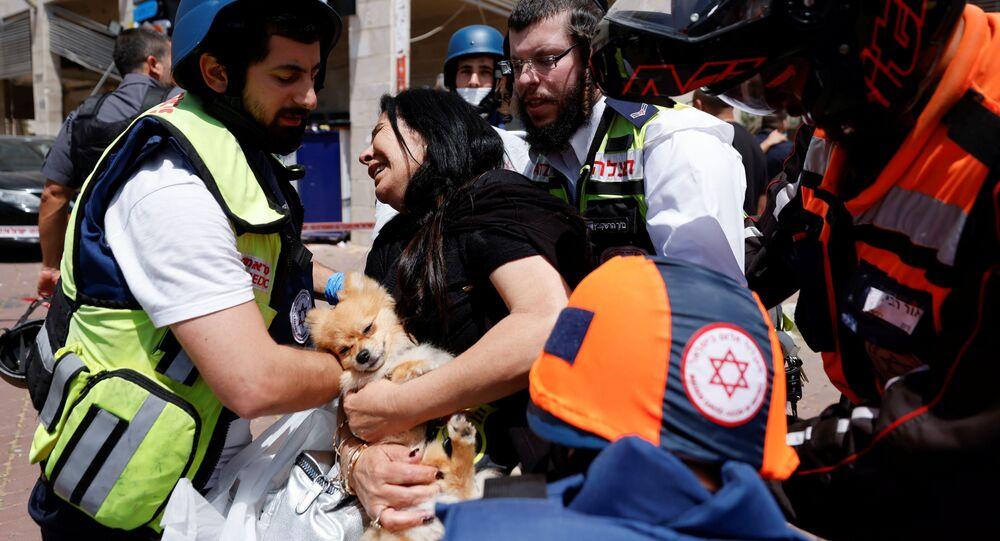 قتلى و جرحى في عسقلان، إسرائيل، غلاف غزة، فلسطين، 11 مايو 2021
