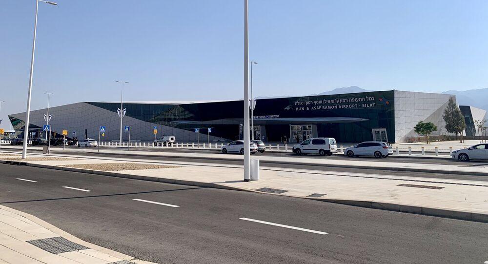 مطار رامون الدولي في جنوب إسرائيل، صور من الأرشيف