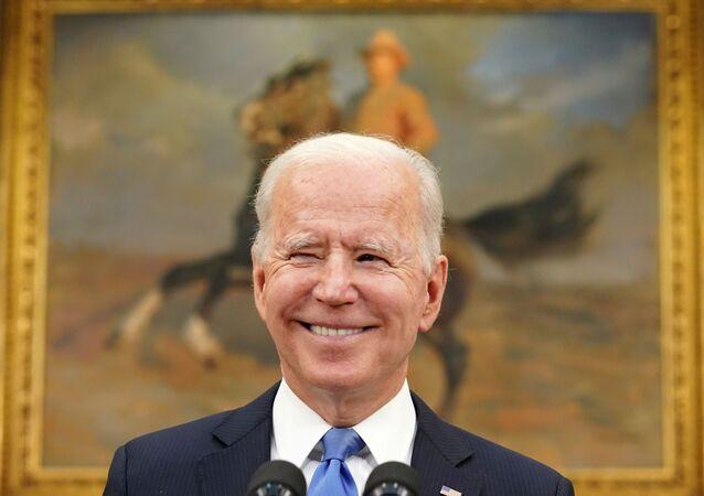 الرئيس الأمريكي جو بايدن، البيت الأبيض، واشنطن، الولايات المتحدة 13 مايو 2021