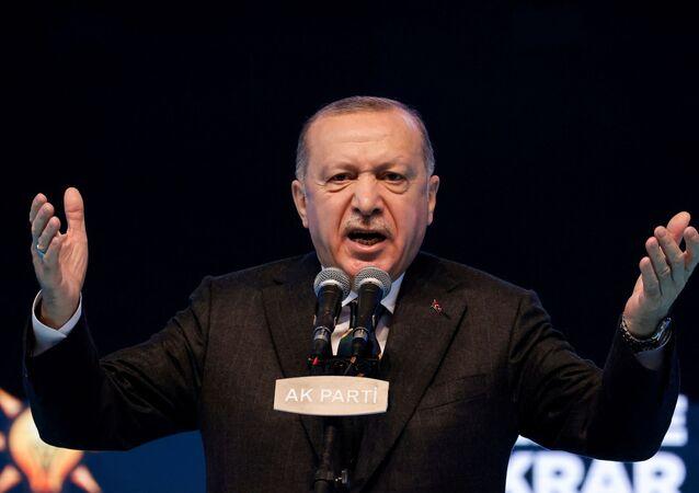 الرئيس التركي رجب طيب أردوغان، تركيا 24 مارس2021