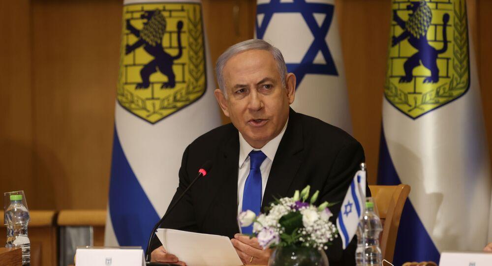 رئيس الوزراء الإسرائيلي بنيامين نتنياهو، القدس 9 مايو 2021