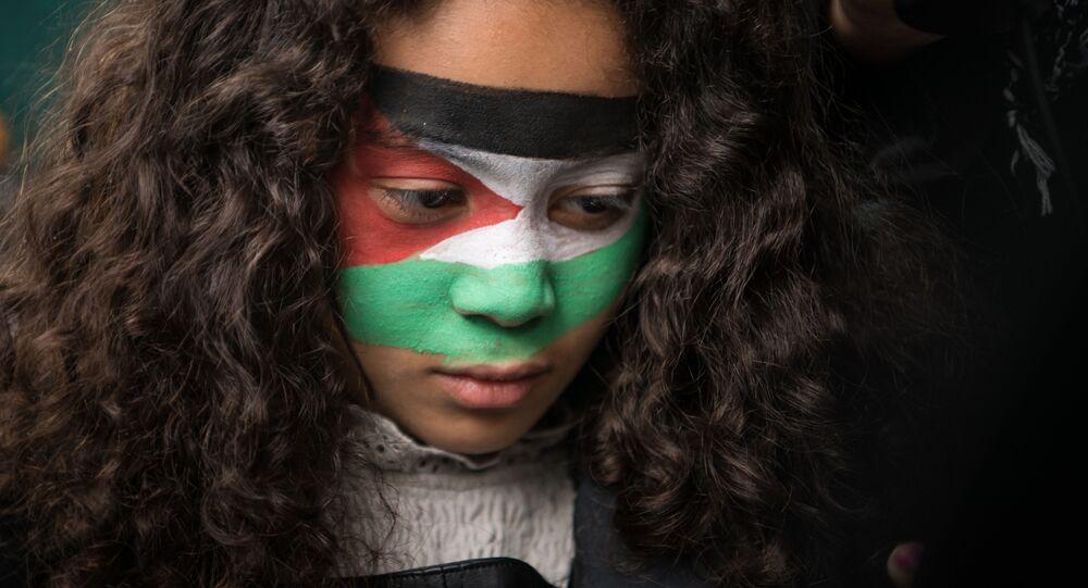 مظاهرات مؤيدة لـ فلسطين في برلين، ألمانيا 15 مايو 2021