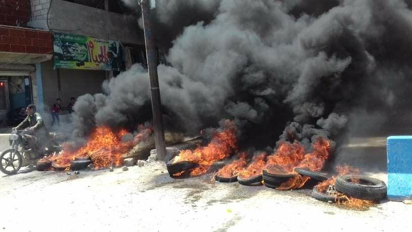 مقتل مدنيين خلال مظاهرات ضد الجيش الأمريكي شرقي سوريا