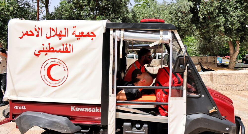 الهلال الأحمر الفلسطيني