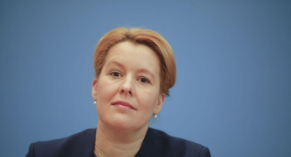 وزيرة الأسرة الألمانية فرانسيسكا جيفاي