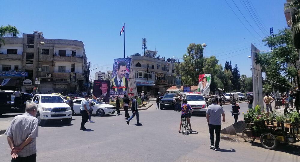 إرهابيون يغتالون شقيق ضحايا أول مجزرة جماعية شهدتها الحرب السورية في حمص، سوريا 19 مايو 2021