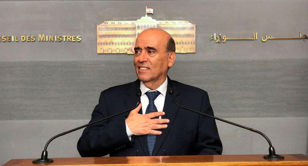 وزير الخارجية اللبنانية شربل وهبة