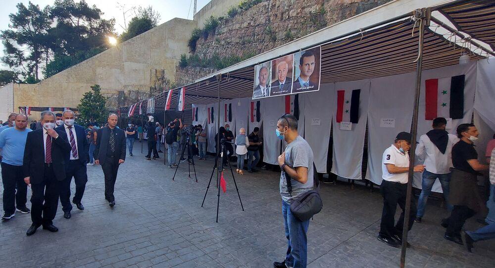 انطلاق انتخابات الرئاسة السورية بمقر السفارة السورية في بيروت