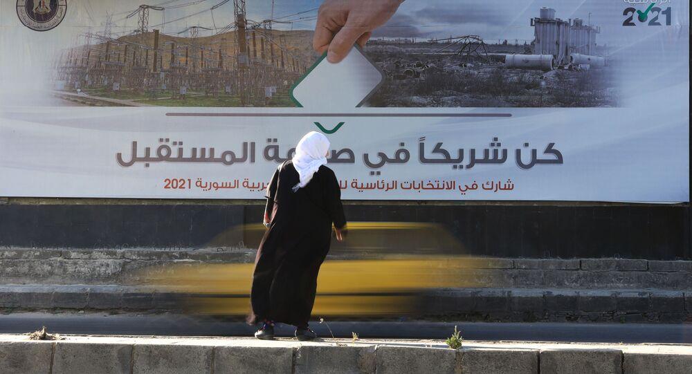التجهيزات للانتخابات الرئاسية السورية في سوريا، 20 مايو 2021