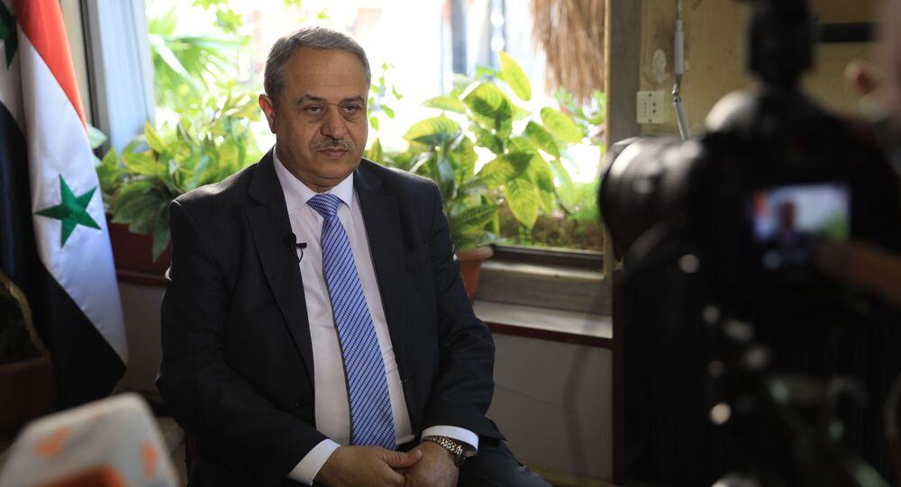 مرشح الرئاسة السورية محمود مرعي