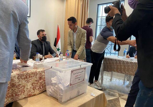 الانتخابات الرئاسية السورية في مصر، 20 مايو/ أيار 2021