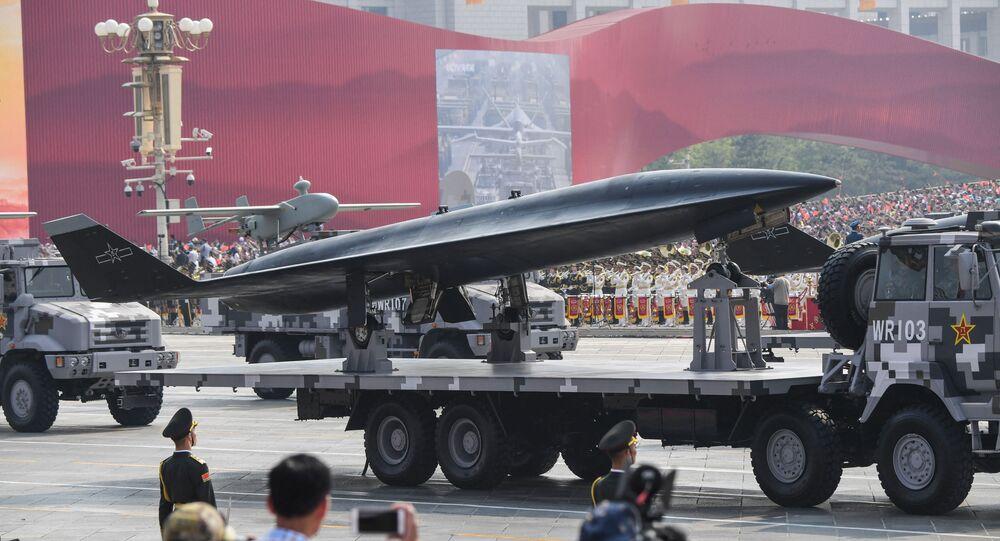 طائرة صينية شبحية بلا طيار فائقة السرعة