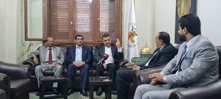 سفير صنعاء لدى دمشق