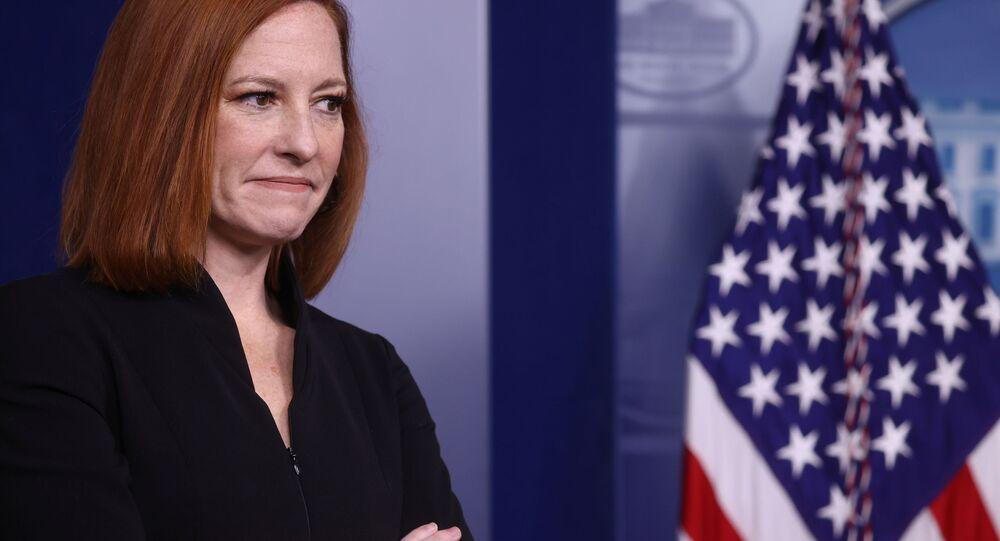 السكرتيرة الصحفية للرئيس الأمريكي، جين بساكي